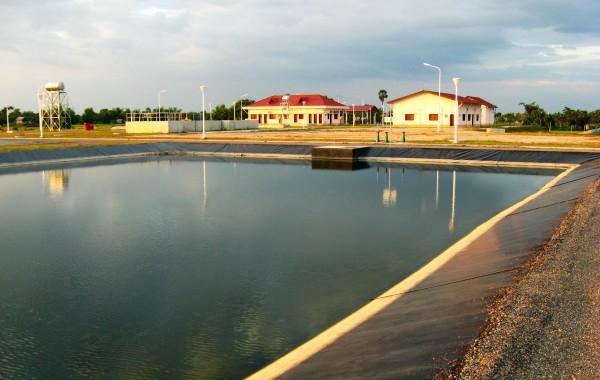 暹立污水厂项目